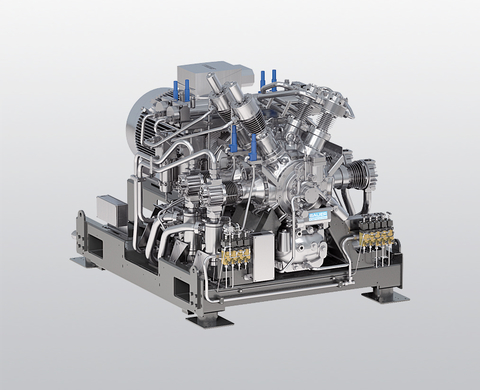 BAUER I 52 water-cooled, high-pressure compressor