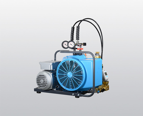 BAUER JUNIOR II breathing air compressor with electric motor