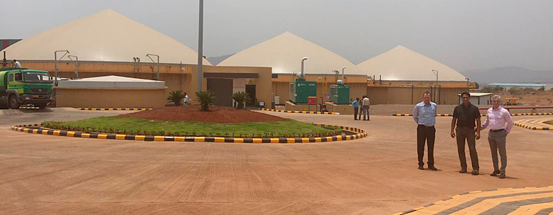 Digesters (raw biogas production)